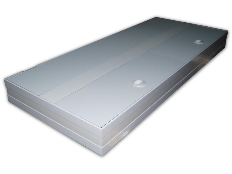 aquarium abdeckung premium white 180x50 rechteck bei meduza6. Black Bedroom Furniture Sets. Home Design Ideas