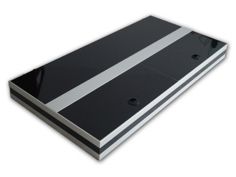 aquarium abdeckung premium silver 100x50 bei meduza6. Black Bedroom Furniture Sets. Home Design Ideas