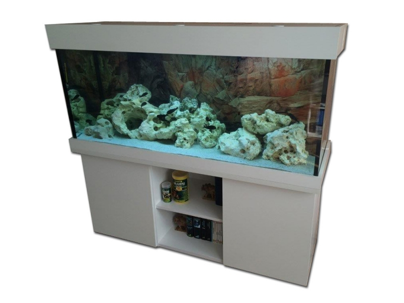 komplett aquarium modern r 450 150x50x60 rechteck 450l 10mm bei meduza6. Black Bedroom Furniture Sets. Home Design Ideas