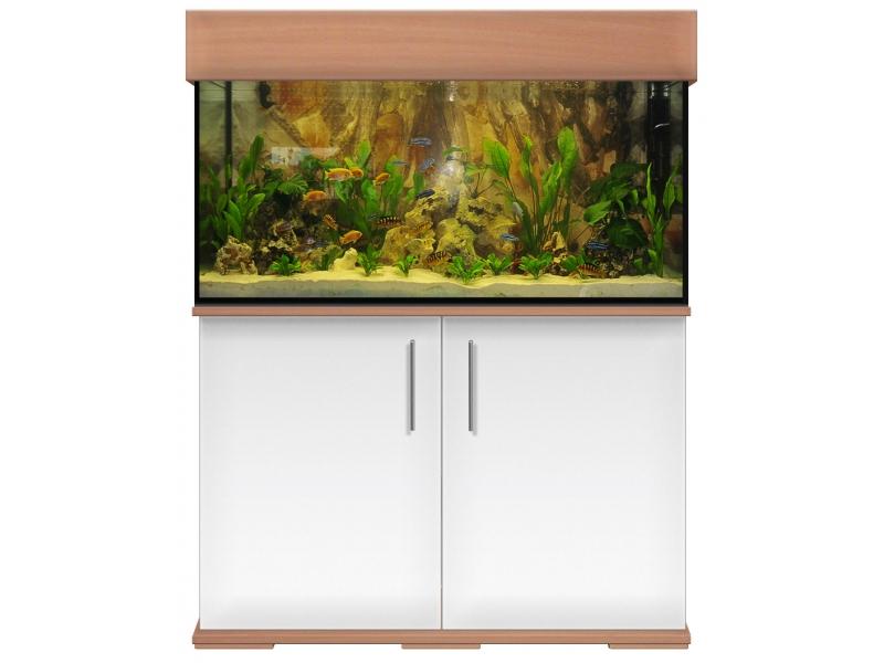 aquariumkombination modern 100x50x50 rechteck 240l 8mm bei meduza6. Black Bedroom Furniture Sets. Home Design Ideas