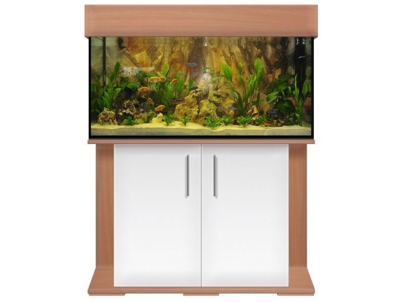 aquariumkombination standard 100x40x50 rechteck 200l 8mm bei meduza6. Black Bedroom Furniture Sets. Home Design Ideas