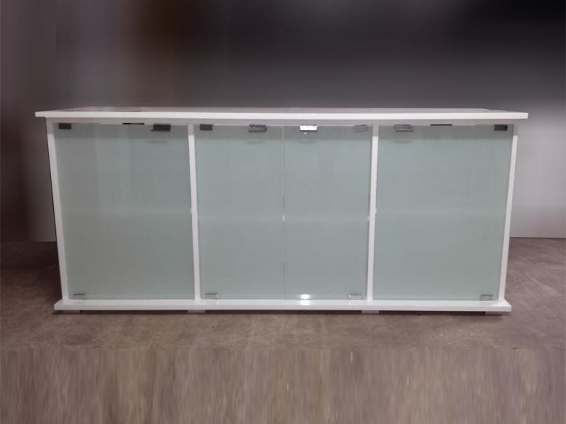 aquarium unterschrank modern 150x50 rechteck bei meduza6. Black Bedroom Furniture Sets. Home Design Ideas