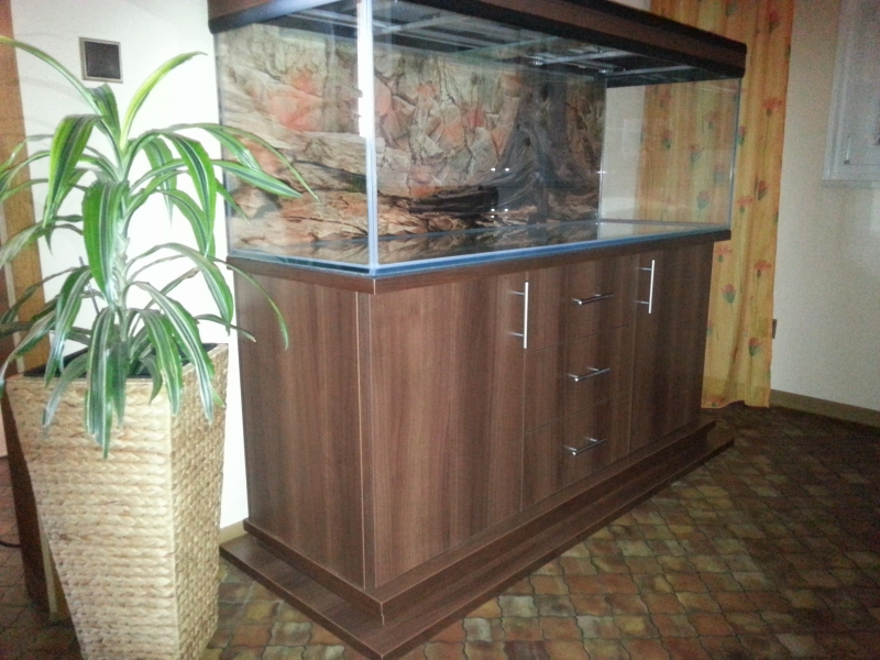 aquarium unterschrank modern s 150x60 rechteck bei meduza6. Black Bedroom Furniture Sets. Home Design Ideas