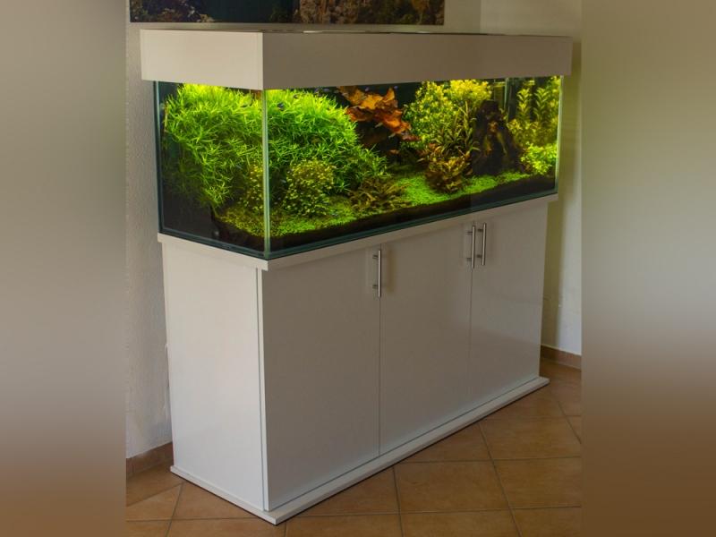 Gut gemocht Aquariumkombination modern 150x50x60 - Rechteck, 450l, 10mm bei VZ81