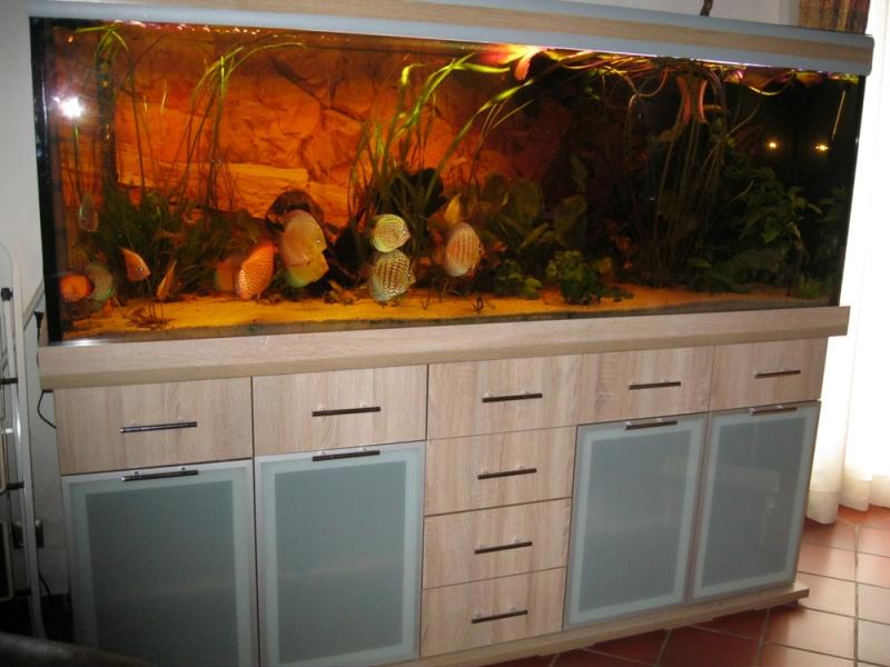 M?belplatten Eiche Sonoma : , Aquariumkombination, Rechteck, 840l, 15mm, Eiche Sonoma