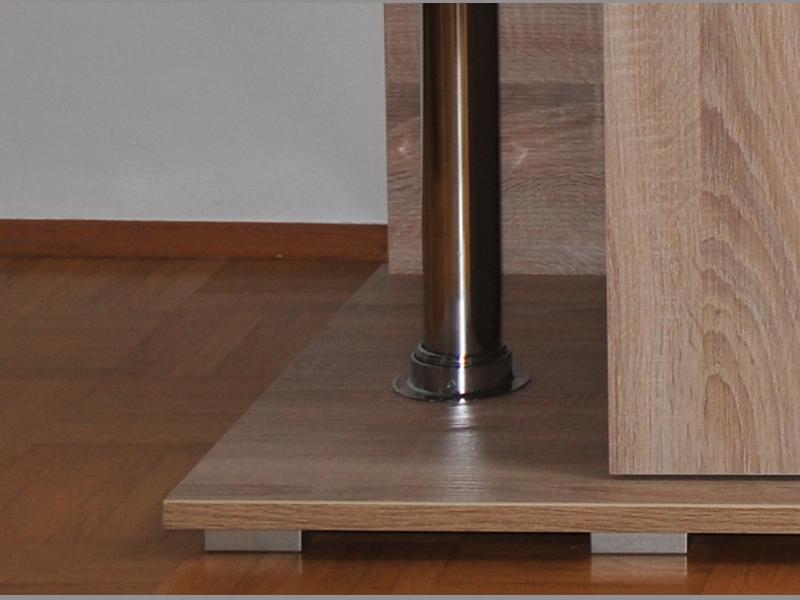 M?belplatten Eiche Sonoma : AquariumUnterschrank deco 150×50  Rechteck bei Meduza6