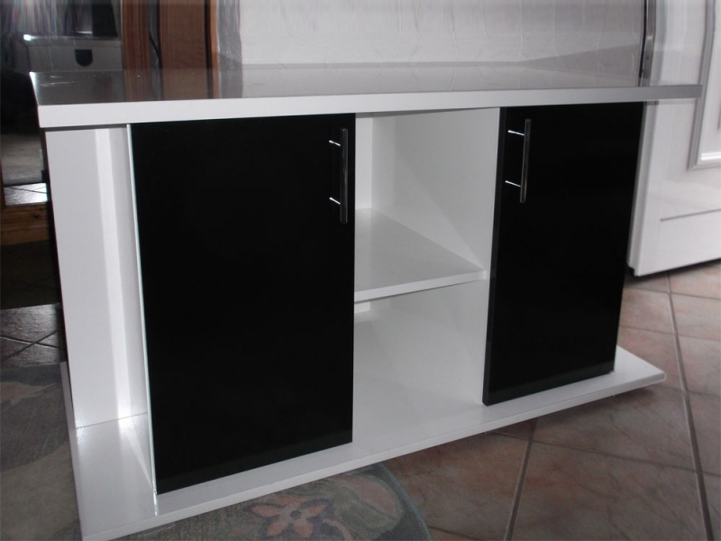 aquarium wei mit unterschrank gh35 hitoiro. Black Bedroom Furniture Sets. Home Design Ideas