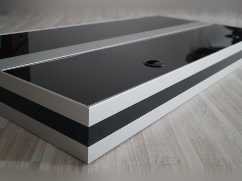 Premium silver unsere hochwertige aluminiumabdeckung mit for Wohnzimmertisch 100 x 50