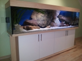 aquarium unterschrank standard 200x60 rechteck ebay. Black Bedroom Furniture Sets. Home Design Ideas
