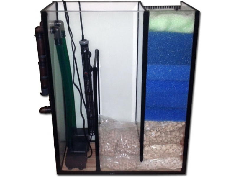 Aquarium meduza 200x50x50 rechteck 500l 10mm bei meduza6 for Aquarium innenfilter